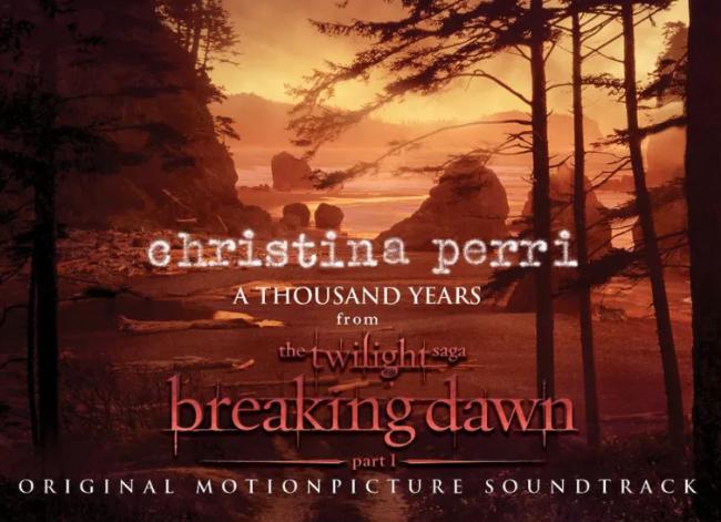 《A Thousand Years》 克里斯蒂娜·佩里