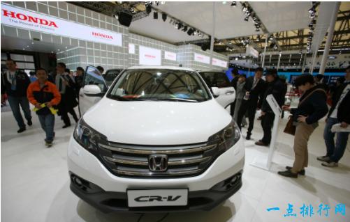 本田CR-V 销量:190000