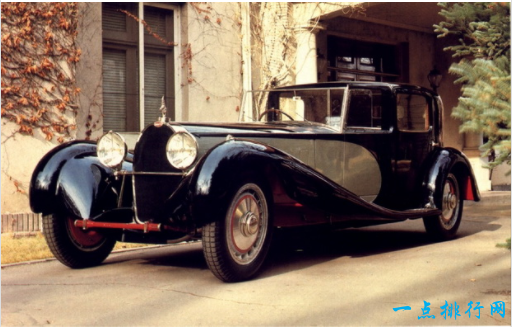 1931类型41布加迪皇家- > $ 870万