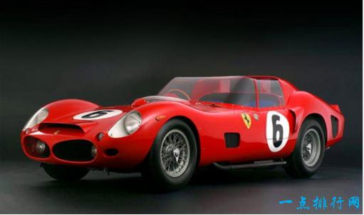 1962年法拉利330 TRI / LM - > 650万美元