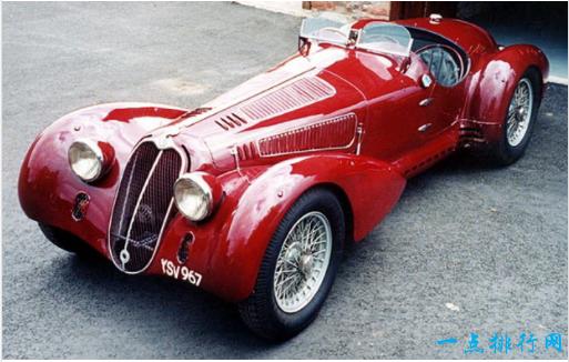 1937年阿尔法罗密欧8C 2900 - > 407万美元