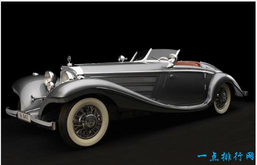 1937年梅赛德斯 - 奔驰540K特快跑车- > 363万美元