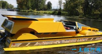 """""""Dobbertin HydroCar""""水陆两栖跑车"""