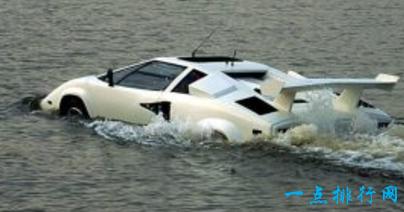 兰博基尼康塔什水陆两栖车
