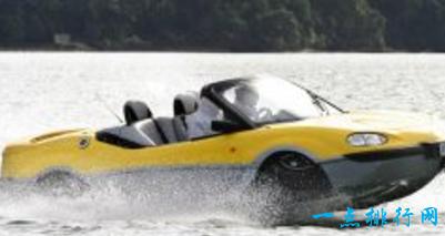 【图】世界十大水陆两栖车 疯狂劲爆的水上兰博基尼跑车