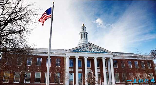 世界十大名校之一:哈佛大学