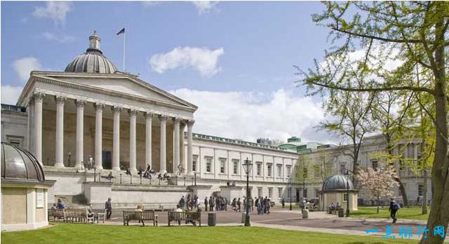 世界十大名校之一:伦敦大学学院