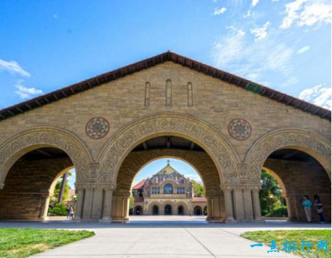 2.斯坦福大学 录取率5.05%