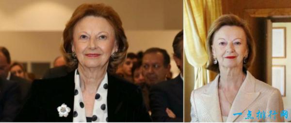 玛丽亚·弗兰卡·菲索罗 净资产:264亿美元