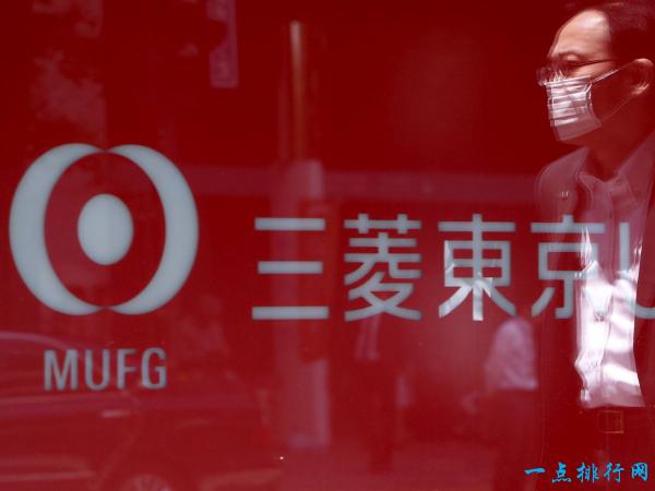 三菱日联金融集团 2.59万亿美元