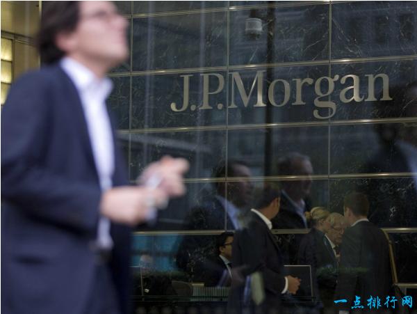 摩根大通银行 2.49万亿美元