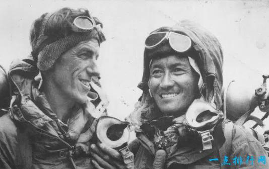 埃德蒙·希拉里和丹增·诺尔盖