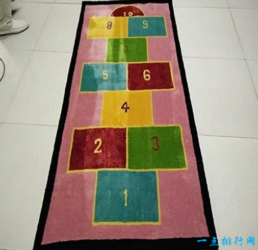 建华跳房子游戏主题地毯