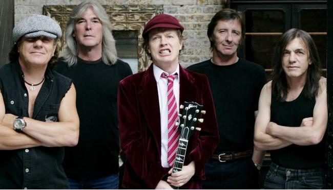 AC/DC乐队 3500万美元