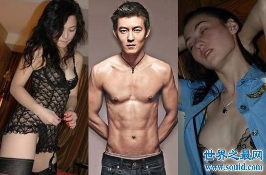 【图】张柏芝和陈冠希的合照,艳照门后还吐舌合拍