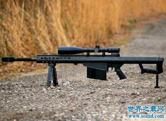盘点世界上最好的狙击枪,L115A3狙击步枪位居榜