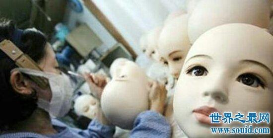 世界最贵最好的充气娃娃与真人百分百相似 价值高达40万人民币