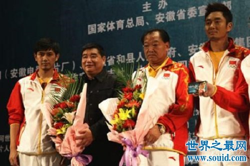 中国奥运金牌第一人许海峰成为全国人民的骄傲
