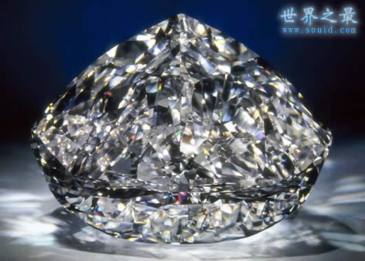 世界上最大的钻石,金禧钻石(545.67克拉)