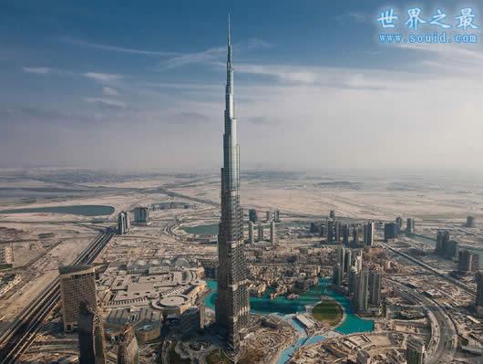 世界上最高的楼,沙特王国大厦(高达1600米)