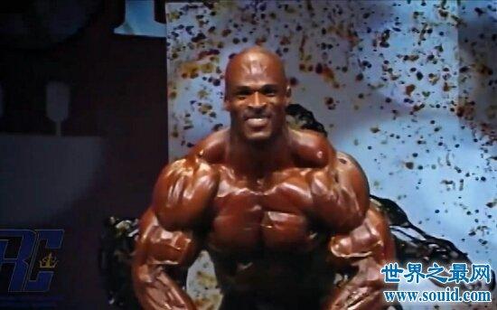 罗尼库尔曼深蹲800磅,挑战极限却没有蹲到第5下!