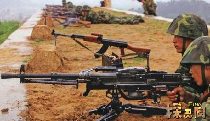 世界十大通用机枪,绝地求生中有两把(拿上它们能吃鸡)