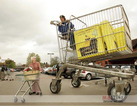 世界上最大的购物车