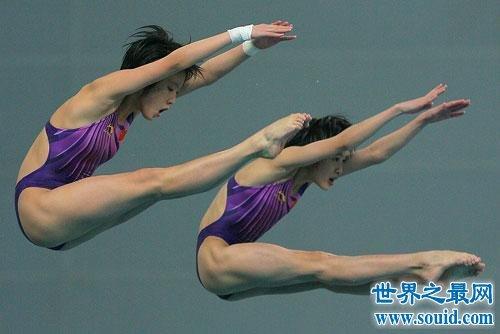 中国六大最著名的女子跳水运动员,谁说女子不如男!