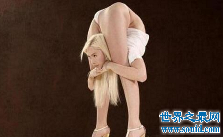 世界上最软的人,人体360°折叠已不再是梦