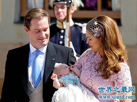 欧洲最美公主玛德琳公主的梦幻婚礼