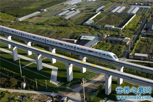 世界上最快的磁悬浮列车,中国和谐号名列其中