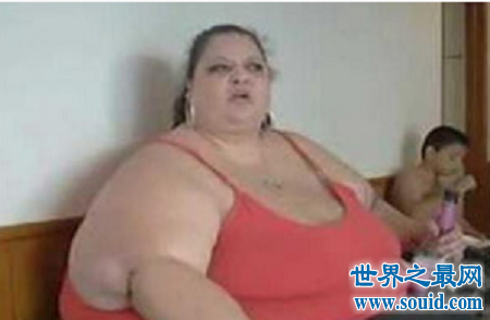 世界上最胖的人  胖到颠覆你的世界观你敢信不?