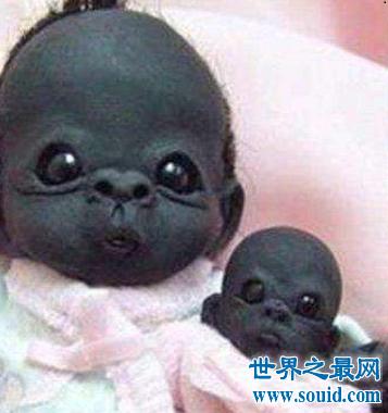 看世界上最黑的孩子,世界史无前例的黑你意想不到