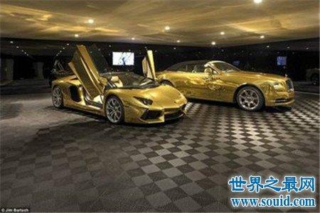 世界上最贵的车 开一次都是在浪费黄金
