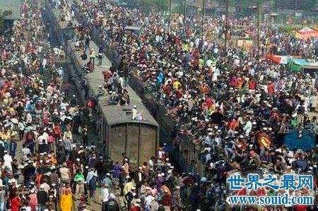 世界上人口最多的国家中国脱颖而出 第二竟是这个国家