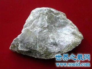 世界上最软的石头软到让人们意想不到的地步