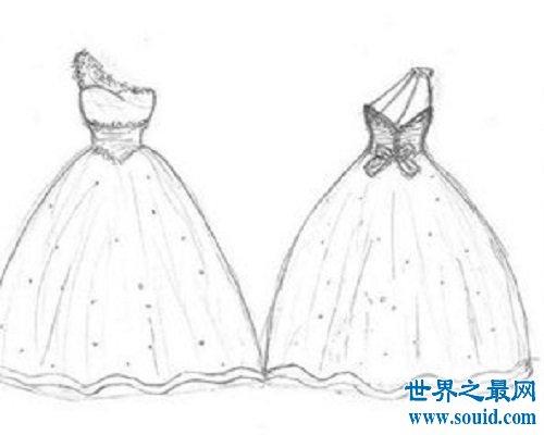 画画图片大全之世界最长的婚纱系列,想要为你的男神穿上吗?