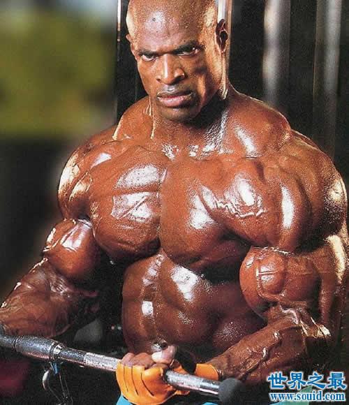 世界上最强壮的人,史上最强肌肉男(胸比头大)