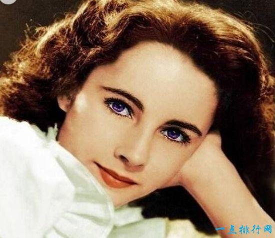 世界最美的眼睛 伊丽莎白泰勒那迷人心神的紫眸