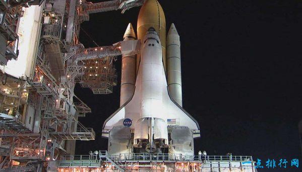 世界上第一架航天飞机 从未进入太空的企业号