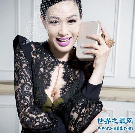 娱乐圈性感女星,杨幂垫底柳岩张雨绮也称不上第一