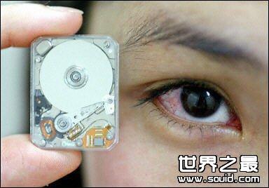 世界上最小的硬盘