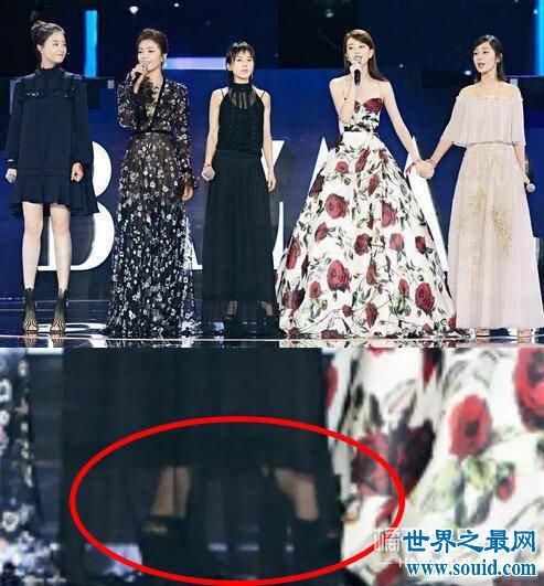 王子文身高根本没有162厘米 巧用衣物掩盖身高