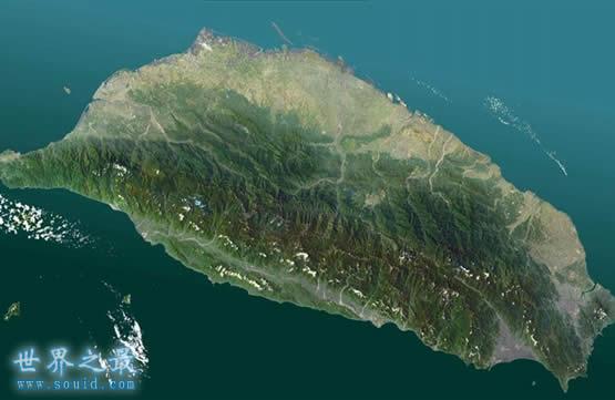 中国最大的岛屿,宝岛台湾(3.57万平方公里)