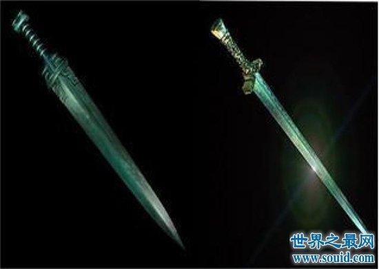 上古十大神剑 排名第一的可以杀死世间万物