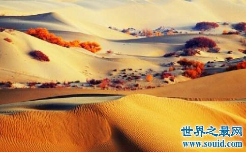 中国最大的沙漠也是世界最神秘的沙漠 面积有三个省那么大