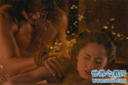 18禁电影肉蒲团里的主角铁玉香身材相当火爆 让人看了直流鼻血