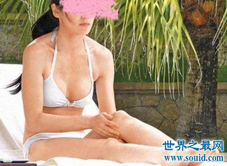 林熙蕾泳装事件心中的女神竟然露出这种姿态